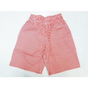 COOKMAN クックマン ショーツ Chef Short Pants 【Gingham Red】|moveclothing
