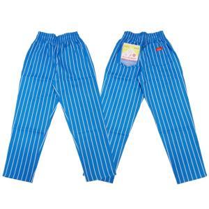COOKMAN クックマン パンツ シェフパンツ Chef Pants 【Stripe LIGHT BLUE】|moveclothing