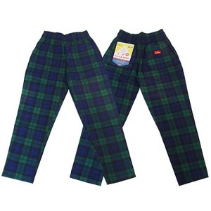 COOKMAN クックマン パンツ シェフパンツ Chef Pants 【Black Watch Check】|moveclothing