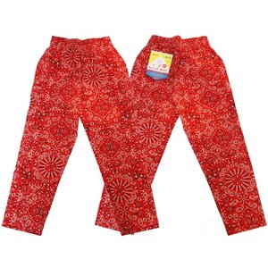 COOKMAN クックマン パンツ シェフパンツ Chef Pants 【Paisley Red】|moveclothing