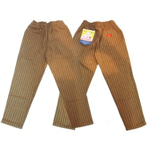 COOKMAN クックマン パンツ シェフパンツ Chef Pants 【Wool mix Stripe】 Beige|moveclothing