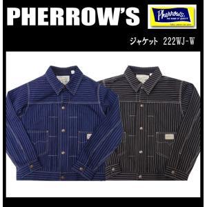 PHERROW'S フェローズ ウォバッシュジャケット 222WJ-W|moveclothing