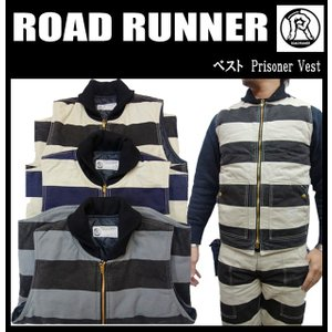 ROAD RUNNER ロードランナー 神戸 ベスト PRISONER VEST|moveclothing