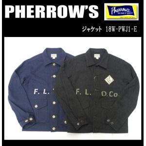 PHERROW'S フェローズ ジャケット 18W-PWJ1-E|moveclothing