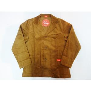COOKMAN クックマン ジャケット Lab.Jacket Corduroy【BROWN】|moveclothing