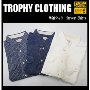 TROPHY CLOTHING トロフィークロージング 半袖シャツ Harvest Short Sleeve Shirts|moveclothing