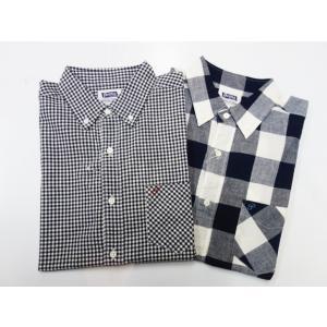 PHERROW'S フェローズ 半袖ボタンダウンシャツ 19S-PBDS2|moveclothing