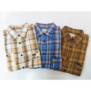 PHERROW'S フェローズ ライトネルシャツ 19W-750WS-C|moveclothing