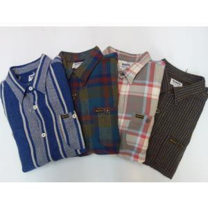 PHERROW'S フェローズ ヘビーネルシャツ 20W-720WS|moveclothing
