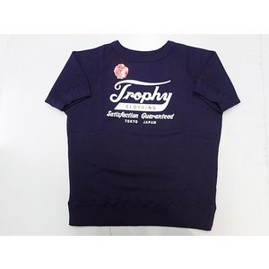 TROPHYCLOTHING トロフィークロージング 半袖スウェット TROPHY OD S/S SWEATSHIRT|moveclothing