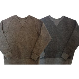 TROPHYCLOTHING トロフィークロージング スウェット SALT&PEPPER FREEDOM SWEAT|moveclothing
