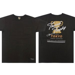 TROPHY CLOTHING トロフィークロージング Tシャツ TOURIST TROPHY OD POCKET TEE|moveclothing