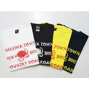 """MIGHTY'S マイティーズ Tシャツ """"HALEIWA TOWN""""