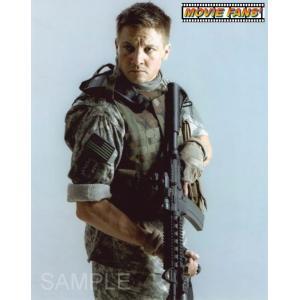 ブロマイド写真(外国製) ジェレミー・レナー/『ハート・ロッカー』/銃を持つ写真