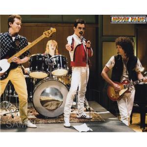 ブロマイド写真(外国製)『ボヘミアン・ラプソディ』/バンド練習中の4人/ラミ・マレック、グウィリム・...