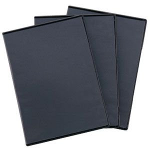 DVD ケース トールケース ブラック 3枚組