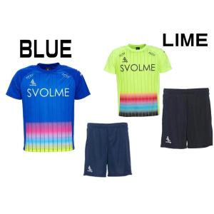 SVOLME ジュニアプラクティス上下セット ジュニアサッカー トレーニングウェア&パンツ 1201...