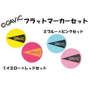GAVIC(ガビック) フラットマーカーセット 2色×5枚 メッシュケース付 GC1202 *取り寄...