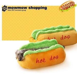 犬 ベッド おしゃれ ホットドッグ ペット用品 犬のベッド クッション 防寒 dbed0001