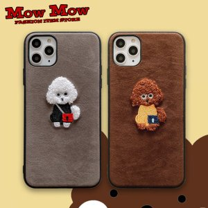iPhone SE 第2世代 11 Pro ケース Max iPhoneXR iPhoneXS XSMax X iPhone8 8Plus iPhone7 7Plus かわいい もこもこ プードル sc0013 mowmow0731