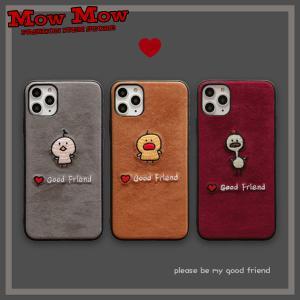 iPhone SE 第2世代 11 Pro ケース Max iPhoneXR iPhoneXS XSMax X iPhone8 8Plus iPhone7 7Plus かわいい とり 動物 sc0068 mowmow0731