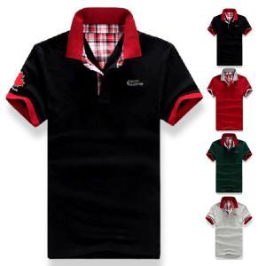 ゴルフウェア POLO ポロシャツ チェック ゴルフシャツ メンズ 鹿の子 半袖 アメカジ ta-pmmix0012