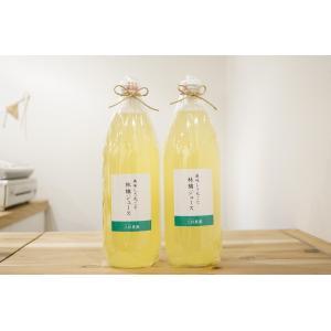 上杉りんご園 林檎ジュース 2本セット|mpantry