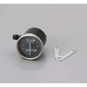 デイトナ 機械式スピードメーター(180K)/ブラックパネル (48565)