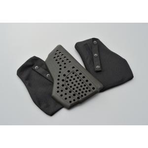 デイトナ SAS-TEC 胸部プロテクター CP-2 セパレートタイプ スナップボタンBAG付/ペア (94857)|mpc