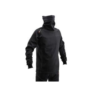 デイトナ HenlyBegins  HBV-020 防風防寒インナーシャツ ネックウォームタイプ(L) BK (96897)|mpc