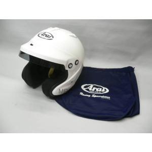 アライ 4輪用 オープンフェイスヘルメット GP-J3 8859(ホワイト)/XLサイズ|mpc