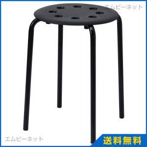 IKEA イケア MARIUS スツール ブラック (001.623.80)|mpee