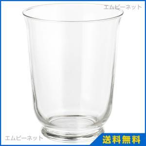 IKEA イケア POMP 花瓶/ランタン クリアガラス (003.265.36)