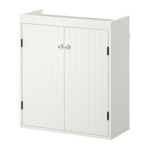 IKEA イケア SILVERAN 洗面台 扉2枚 ホワイト (102.845.26)|mpee