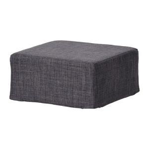 IKEA イケア NILS スツール用カバー スキフテボー ダークグレー (102.932.91)|mpee