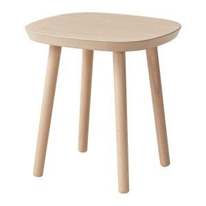 IKEA イケア  ASFRED アスフレド コーヒーテーブル ホワイトステインオーク材突き板 (103.921.68)|mpee