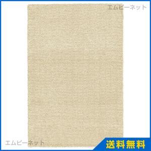 IKEA イケア LANGSTED ラングステド ラグ パイル短, ベージュ (104.239.33)|mpee