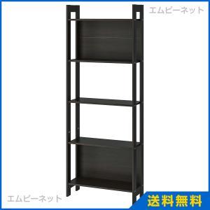 IKEA イケア LAIVA 書棚 ブラックブラウン (201.785.92)|mpee
