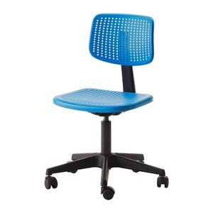 IKEA イケア ALRIK 回転チェア ブルー (202.141.18)|mpee