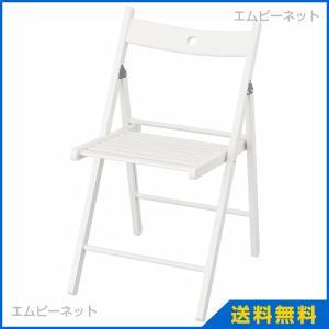 IKEA イケア TERJE 折りたたみチェア ホワイト (202.224.44)|mpee
