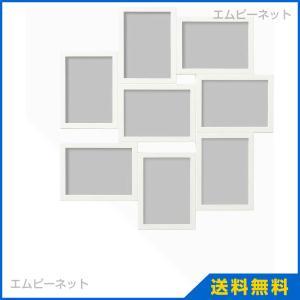 IKEA イケア VAXBO コラージュフレーム 写真8枚用 ホワイト (202.566.22) mpee
