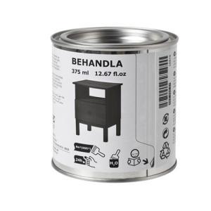 IKEA イケア BEHANDLA グレージング ブラック (203.290.58)|mpee