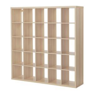 IKEA イケア KALLAX シェルフユニット ホワイトステインオーク調(303.629.19)