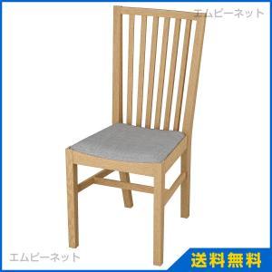 IKEA イケア NORRNAS チェア オーク イースンダ グレー (401.774.93)|mpee