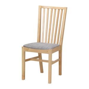 IKEA イケア NORRNAS チェア バーチ イースンダ グレー (401.775.01)|mpee