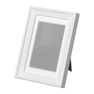 IKEA イケア KNOPPANG フレーム ホワイトステイン (402.974.43) mpee