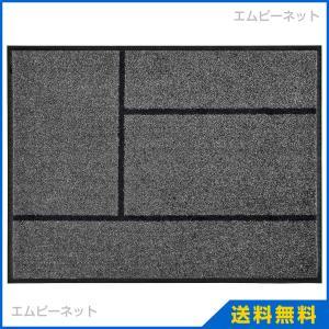 IKEA イケア KOGE ドアマット グレー ブラック (502.879.38)|mpee