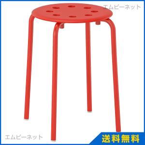 IKEA イケア MARIUS スツール レッド (602.461.98)|mpee