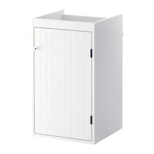 IKEA イケア SILVERAN 洗面台 扉1枚 ホワイト (602.845.24)|mpee