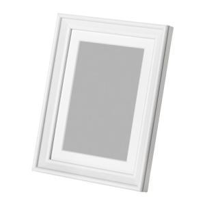 IKEA イケア KNOPPANG フレーム ホワイトステイン (602.974.42) mpee